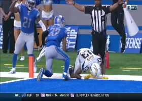 Big play Slay! CB steps in front of Keenan Allen for INT