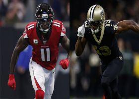 Julio Jones vs. Michael Thomas: Which WR is more intimidating?