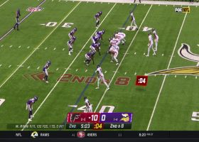 Calvin Ridley puts on juke clinic in Minnesota for 14-yard pickup