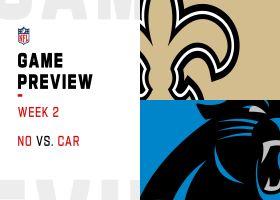 Saints vs. Panthers preview | Week 2