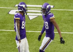 Justin Jefferson's Herculean reach results in Vikings TD