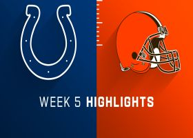 Colts vs. Browns highlights | Week 5