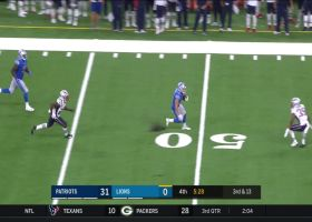 Tom Kennedy crosses field for 29-yard gain