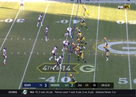 Packers turn ball over on fourth-down incompletion near end of first half