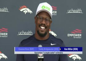 Von Miller guarantees a couple sacks, dominance vs. opposing offensive tackle