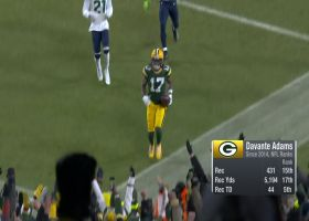 James Jones reacts to Rodgers saying Adams is best WR he's played with