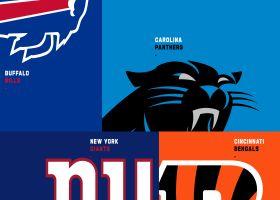 Rapoport details Bengals-Giants, Panthers-Bills trades Monday