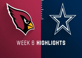 Cardinals vs. Cowboys highlights | Week 6