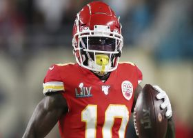 Garafolo: Tyreek Hill added to Chiefs injury report (hamstring)