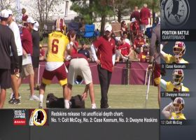 Who's No. 1? Washington Redskins release first unoffical depth chart