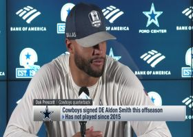 Dak Prescott raves about what he's seen from Aldon Smith