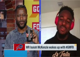 Isaiah McKenzie explains story behind Bills' Week 10 trick play vs. Cardinals