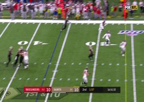 Teddy Bridgewater finds wide open TE Josh Hill for 26-yard gain