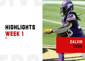 Every touch from Dalvin Cook's 2-TD game | Week 1