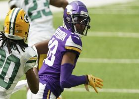 Justin Jefferson makes first NFL catch as a Viking