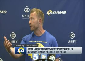 McVay: Matthew Stafford is playing at an 'elite level'