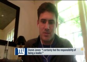 Daniel Jones: 'I certainly feel the responsibility of being a leader'