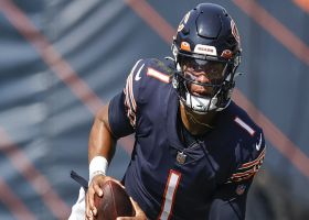 Stacey Dales on Justin Fields: Look for Bears to 'cut him loose' vs. Browns