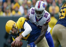Siran Neal surprises Rodgers with blitz sack