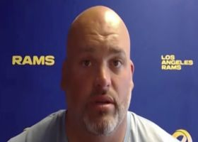 Andrew Whitworth shares early impression of Matthew Stafford