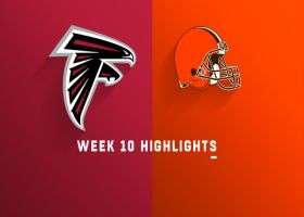 Falcons vs. Browns highlights | Week 10