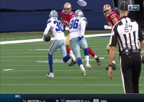 Cowboys' defense continues stellar day with Anthony Brown INT