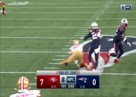 Devin McCourty ballhawks Garoppolo for INT