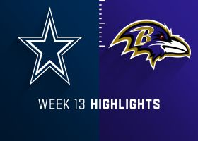Cowboys vs. Ravens highlights | Week 13