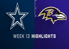 Cowboys vs. Ravens highlights | Week 13