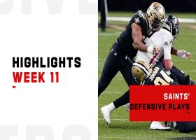 Saints' best defensive plays from strong win vs. Falcons | Week 11