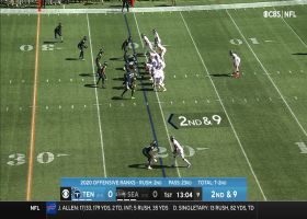 Poona Ford gobbles up Derrick Henry for early TFL
