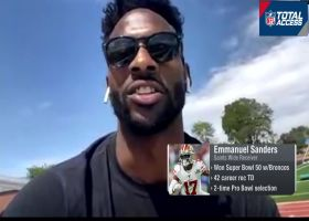 Emmanuel Sanders on the killing of George Floyd: I was so angry tears rolled down my eyes