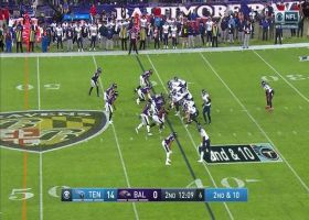 Down goes the King! Brandon Williams drops Derrick Henry for huge loss