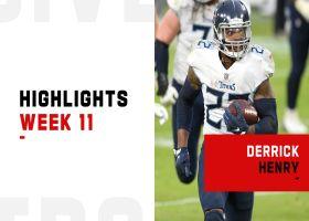 Derrick Henry's biggest plays vs. the Ravens | Week 11