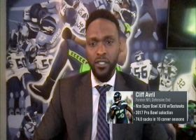 Cliff Avril on Russell Wilson's future with 'Hawks: He 'ain't going nowhere'