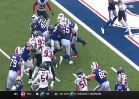 Exactly how they drew it up! Bills' OL paves way for Moss' TD