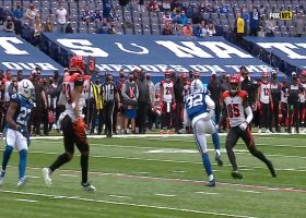 Julian Blackmon picks off Burrow to seal the win for Indy