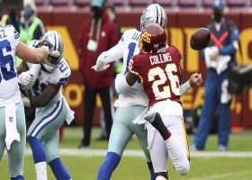 Landon Collins' blitz pays off in strip-sack SAFETY