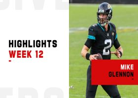 Mike Glennon's best throws from 2-TD game | Week 12