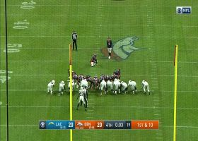 Brandon McManus splits the uprights on 53-yard game-winning FG