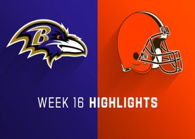 Ravens vs. Browns highlights | Week 16