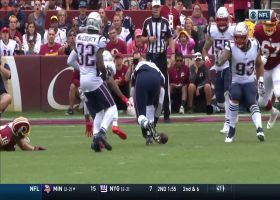 Jamie Collins recovers Jonathan Jones' forced fumble