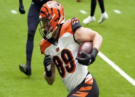 Bengals' rub routes free up Drew Sample for open TD in the flat