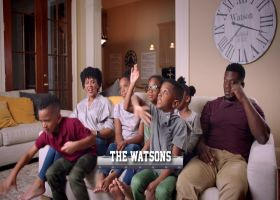 New Orleans Saints tight end Ben Watson's family of nine | NFL Films Presents