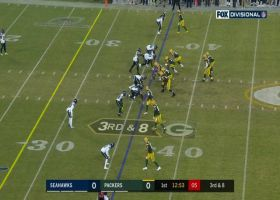 Jimmy Graham hauls in early third-down grab vs. former team