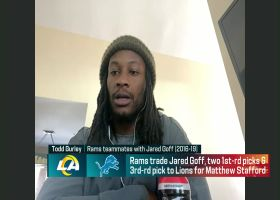 Gurley: 'I wasn't surprised' to hear of Jared Goff trade