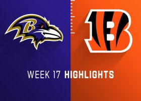 Ravens vs. Bengals highlights | Week 17