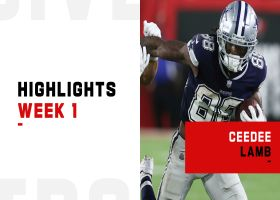 CeeDee Lamb's best plays from 104-yard game | Week 1