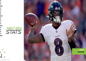 Ravens' top 5 plays through quarter mark of 2021 season | Next Gen Stats