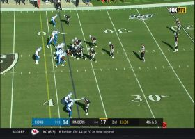 Fake punt alert! Raiders catch Lions off-guard with clever fourth-down play call